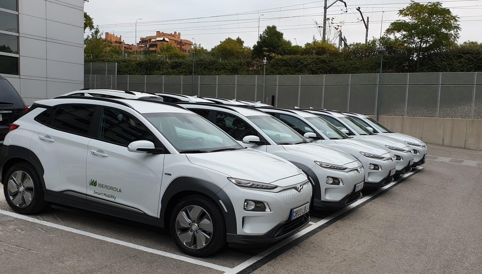 Hyundai entrega 75 Kona eléctrico a Iberdrola