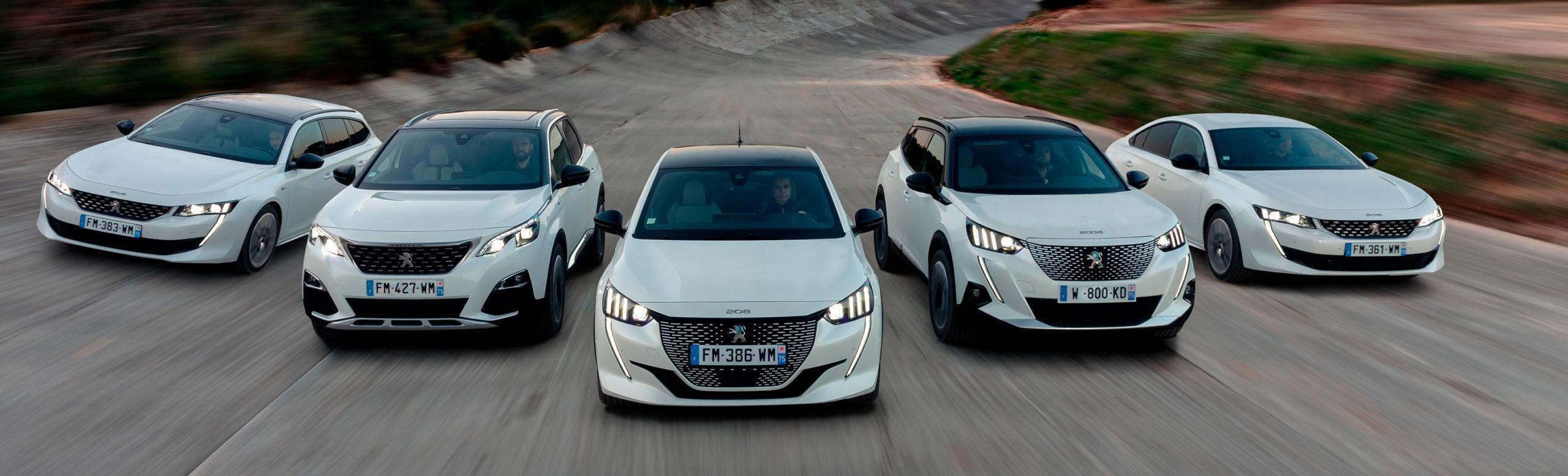 4 modos de Conducción by Peugeot