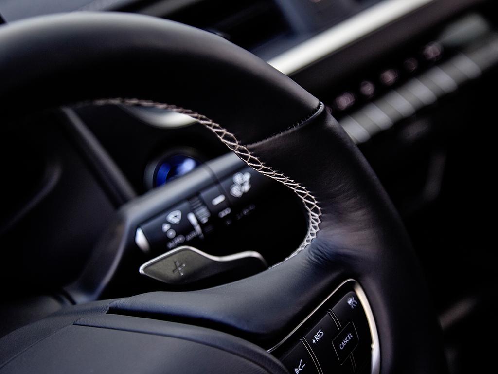 Lexus UX 300e, extremadamente silencioso
