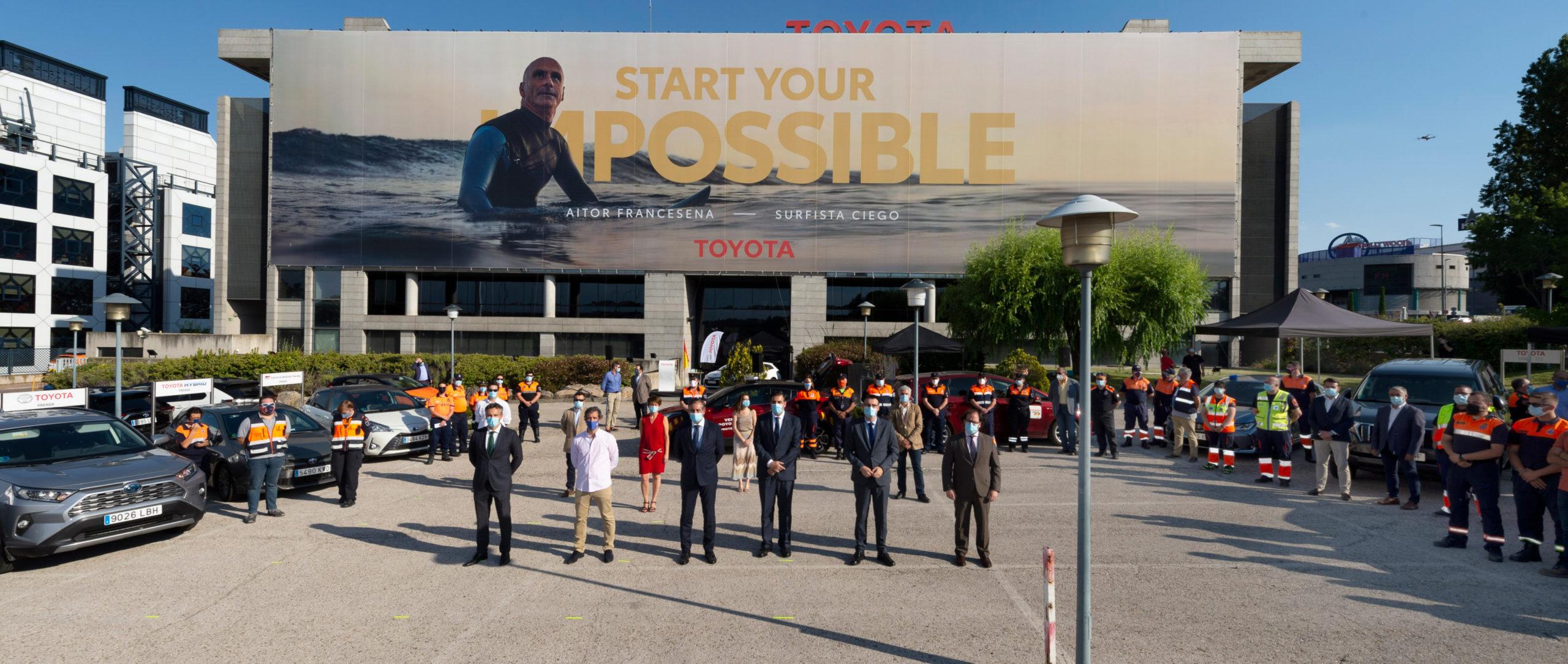 Protección Civil reconoce el esfuerzo de Toyota España