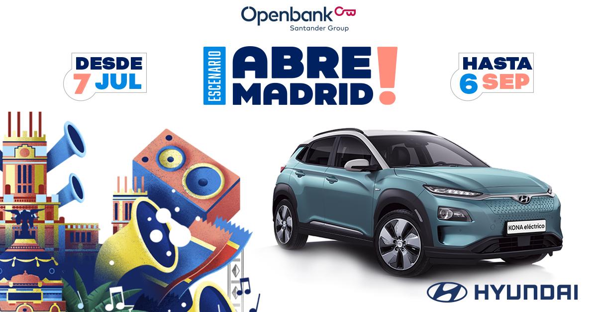 Hyundai colaborador oficial de Abre Madrid