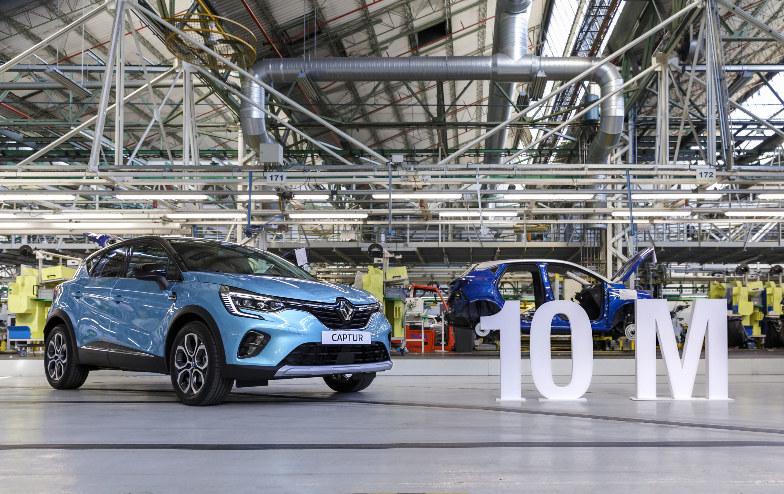 La Fábrica de Valladolid de Renault fabrica su vehículo 10 mill.