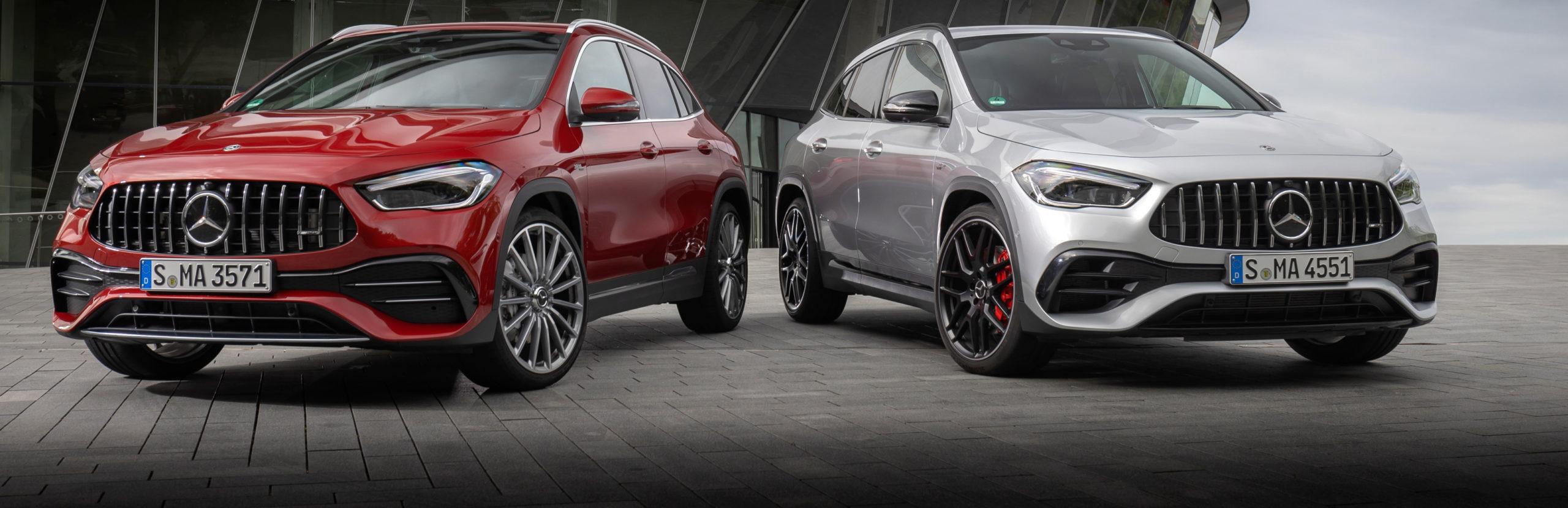 Mercedes-Benz AMG GLA ya tienen precios en sus versiones 35 y 45 4MATIC