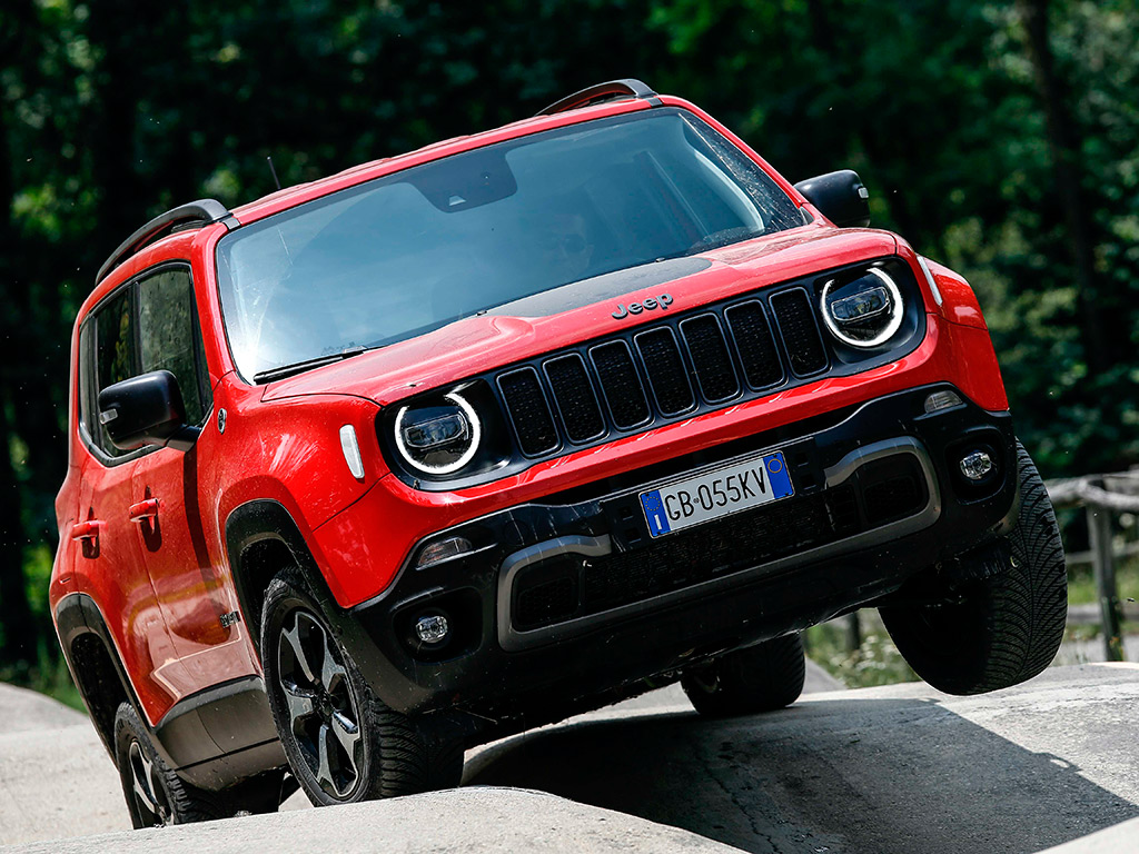 Jeep Compass y Renegade 4xe