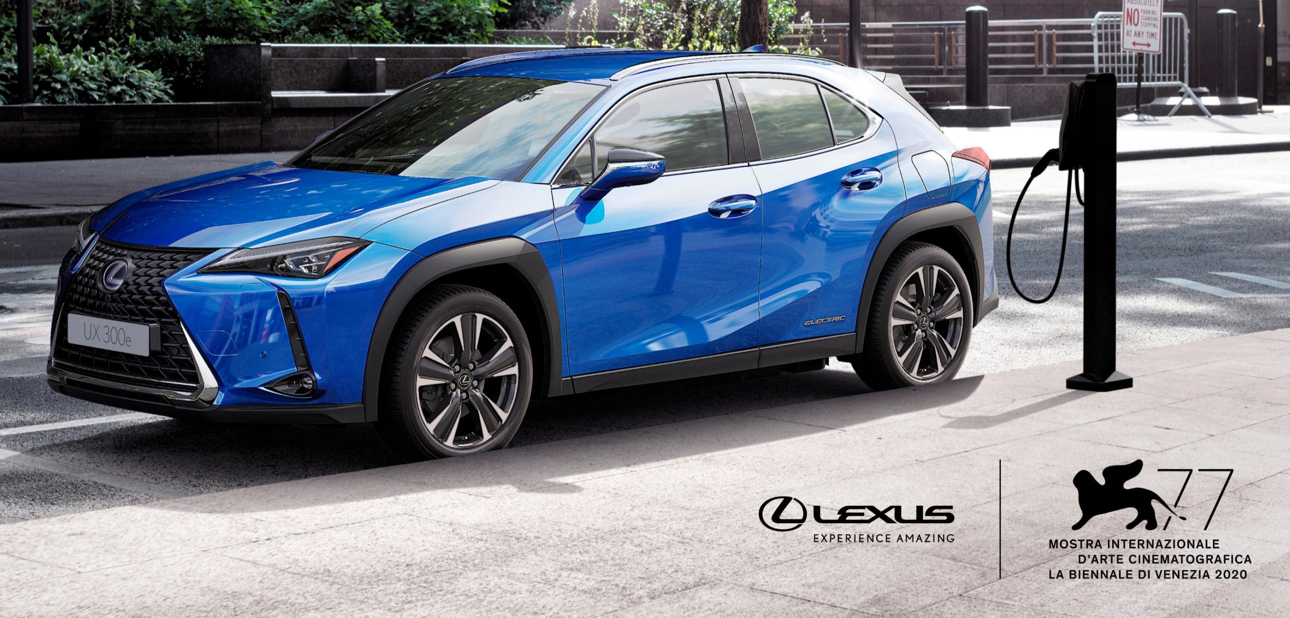 Lexus vehículo oficial de la Bienal de Cine 2020
