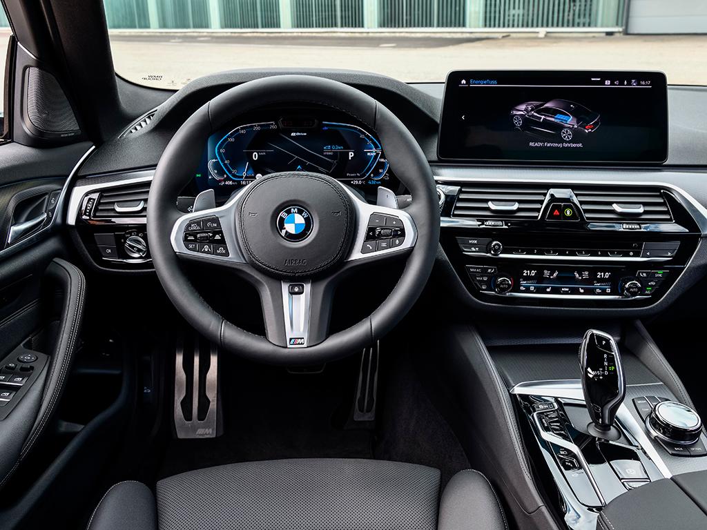 BMW 545e xDrive, motor y modos de conducción
