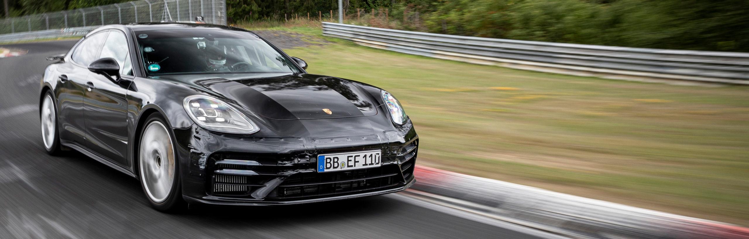 El nuevo Porsche Panamera de récord en Nürburgring