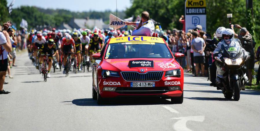 ŠKODA AUTO patrocinador del Tour de Francia 2020