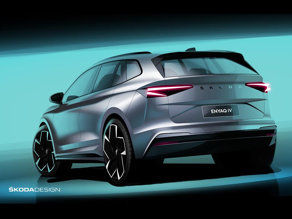 ŠKODA ENYAQ iV el primer SUV 100% eléctrico