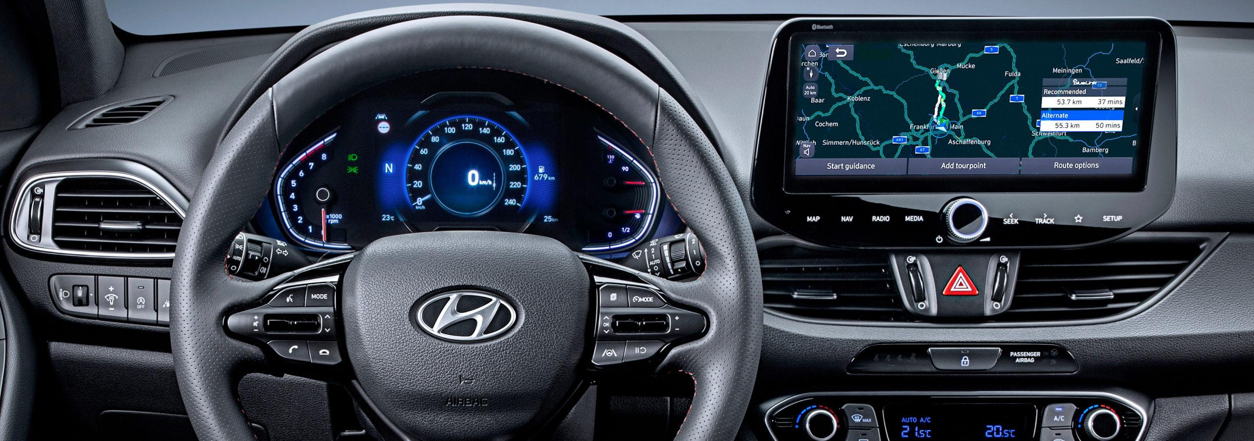 Hyundai actualiza su Bluelink