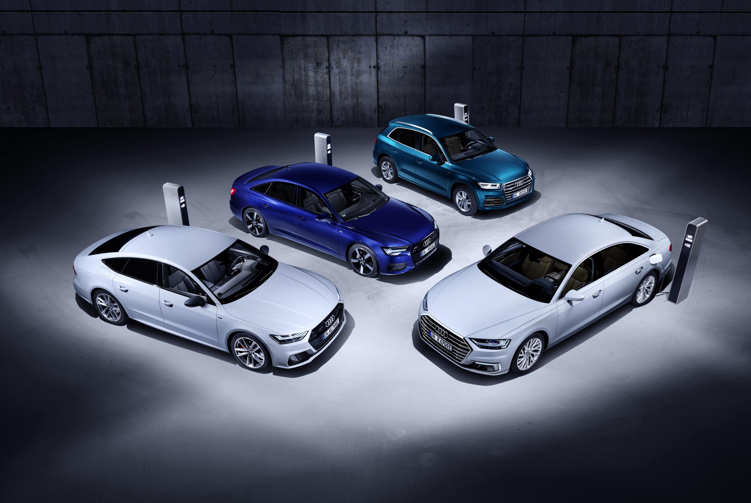Así son los modelos PHEV de AUDI