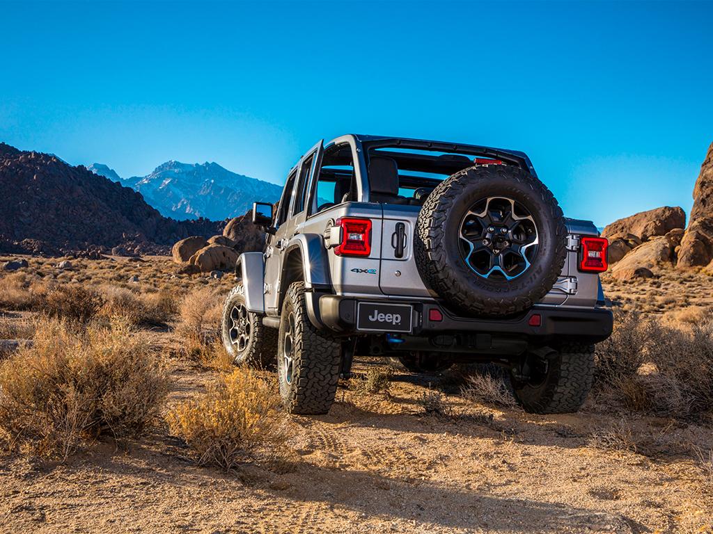 Nuevo Jeep Wrangler 4xe