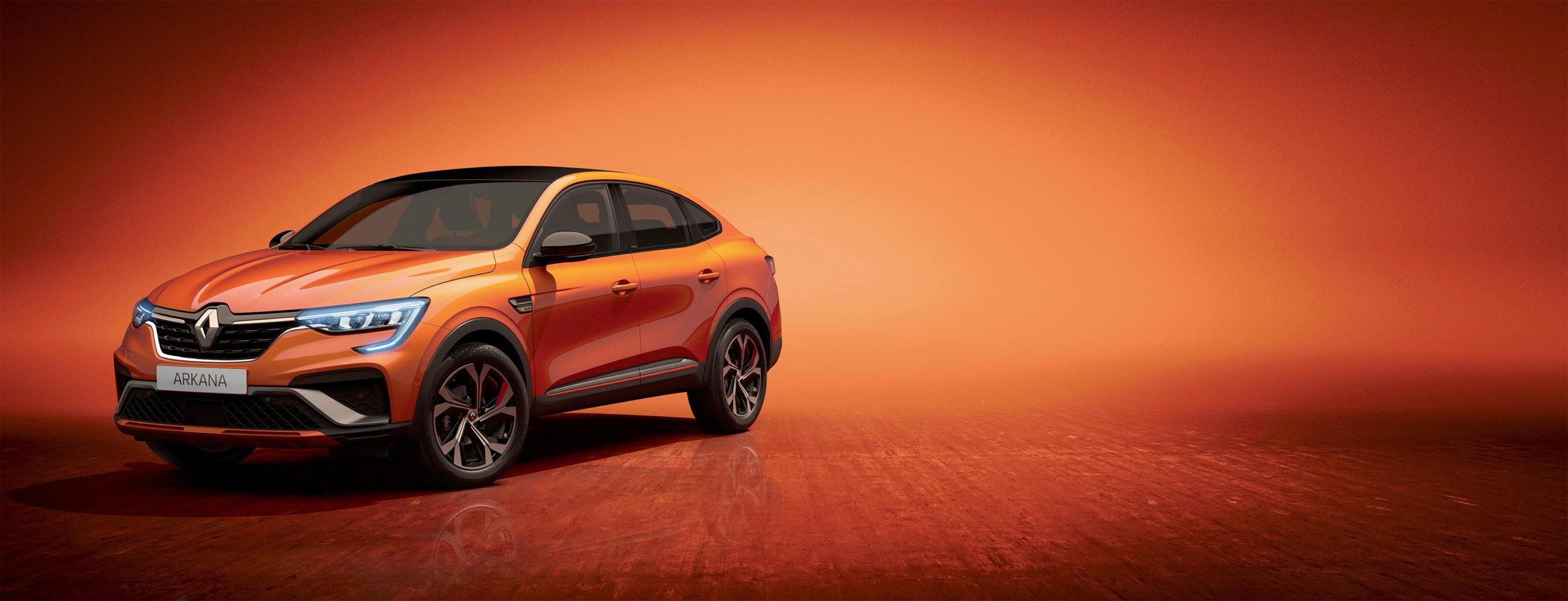Renault Arkana el nuevo SUV Coupé