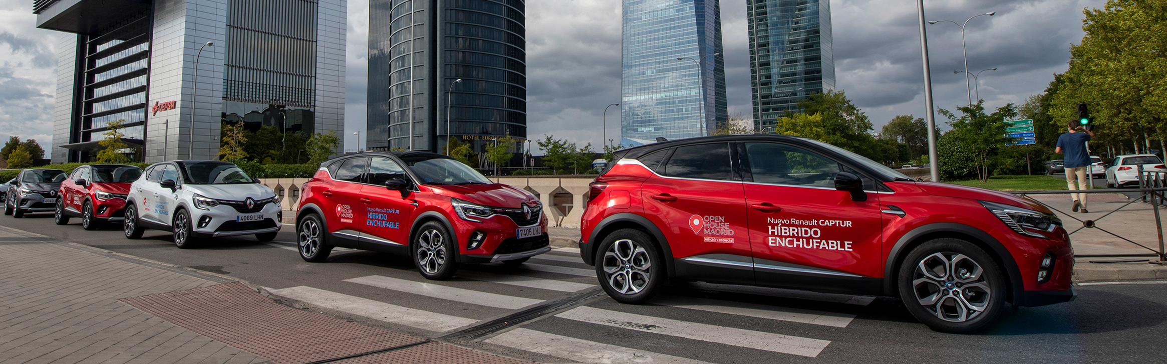 Renault Captur E-TECH protagonista en el OPEN HOUSE MADRID