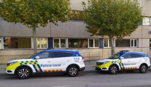 La Policía de Burgos se equipa con DFSK 580