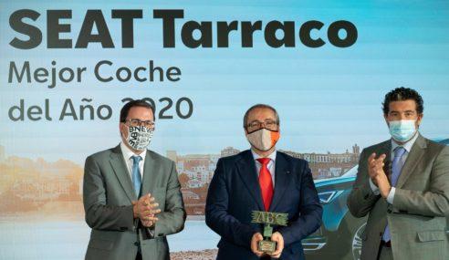 SEAT Tarraco, recibe el premio ABC Mejor Coche del Año 2020