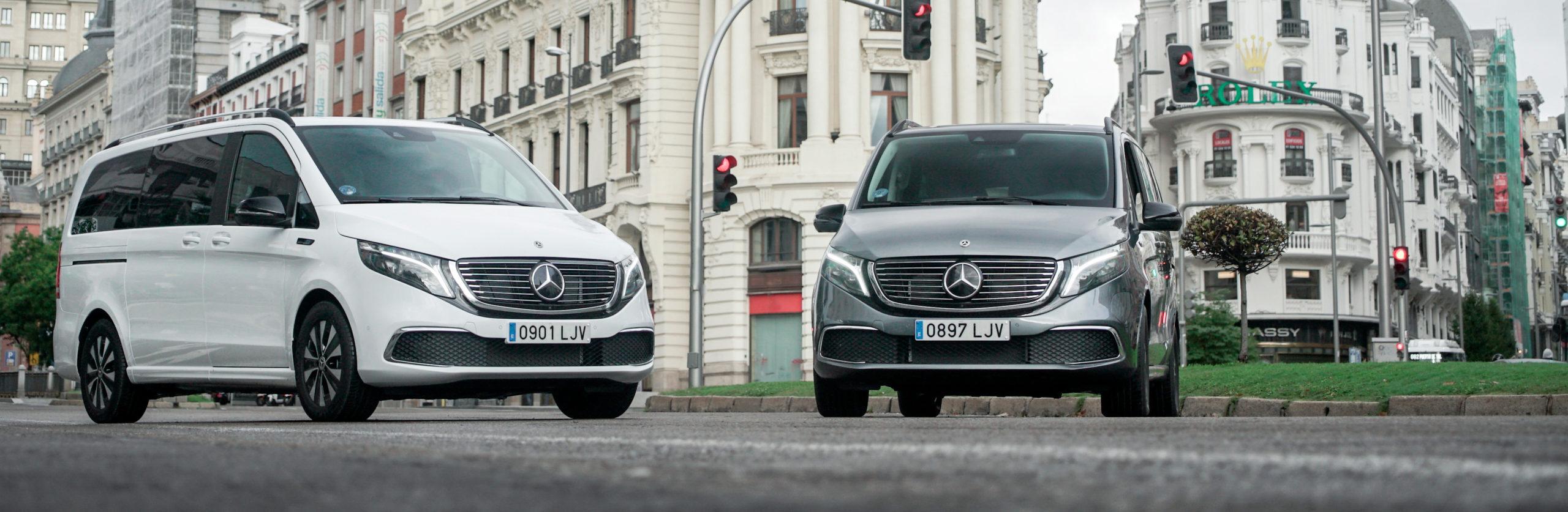 Nuevo Mercedes-Benz EQV. 100% eléctrico
