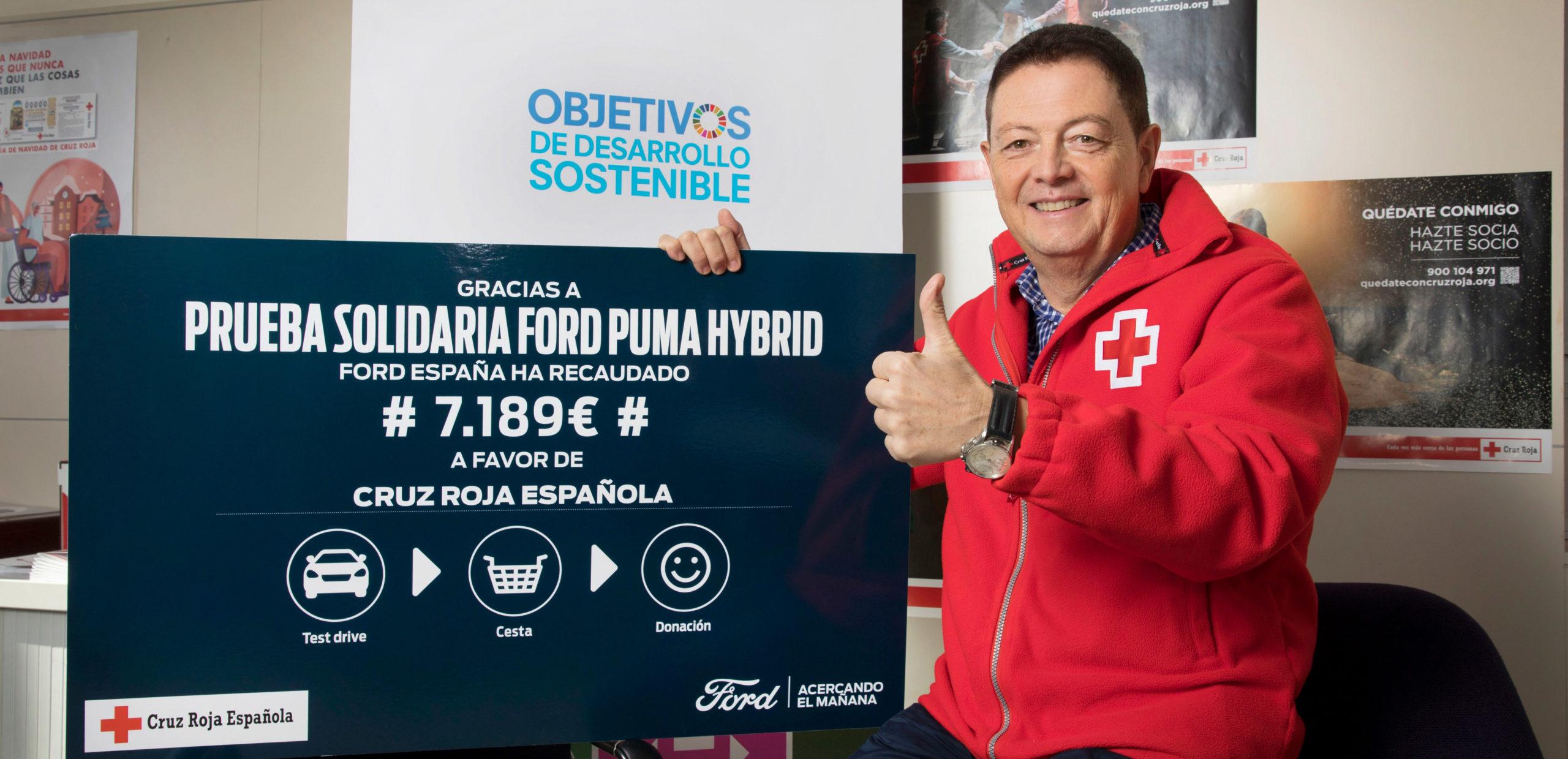 Ford España colabora estrechamente con Cruz Roja Española