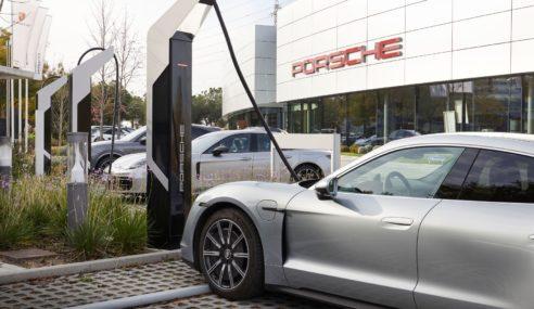 Porsche Ibérica inaugura una estación de carga con 2.100 kW