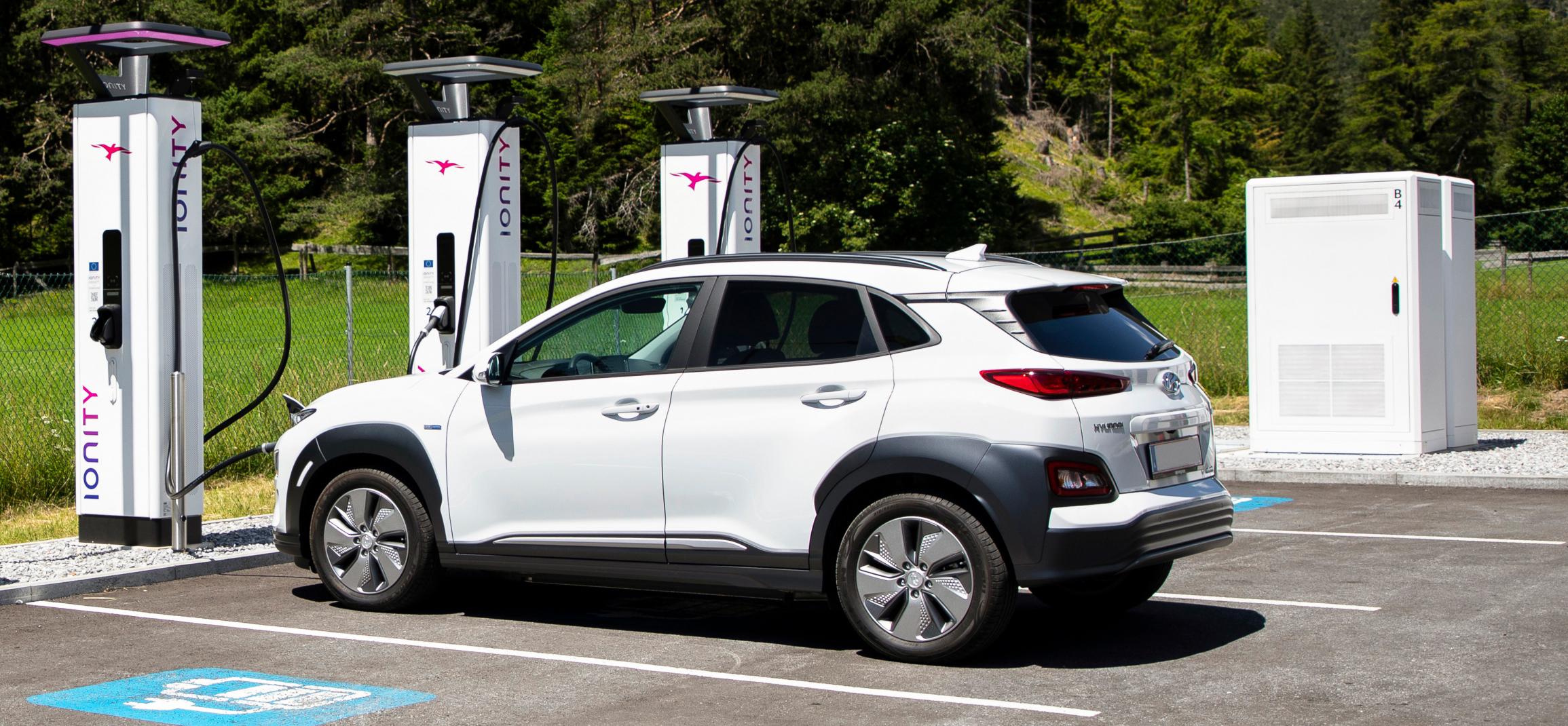 Hyundai utiliza la red de recarga Ionity