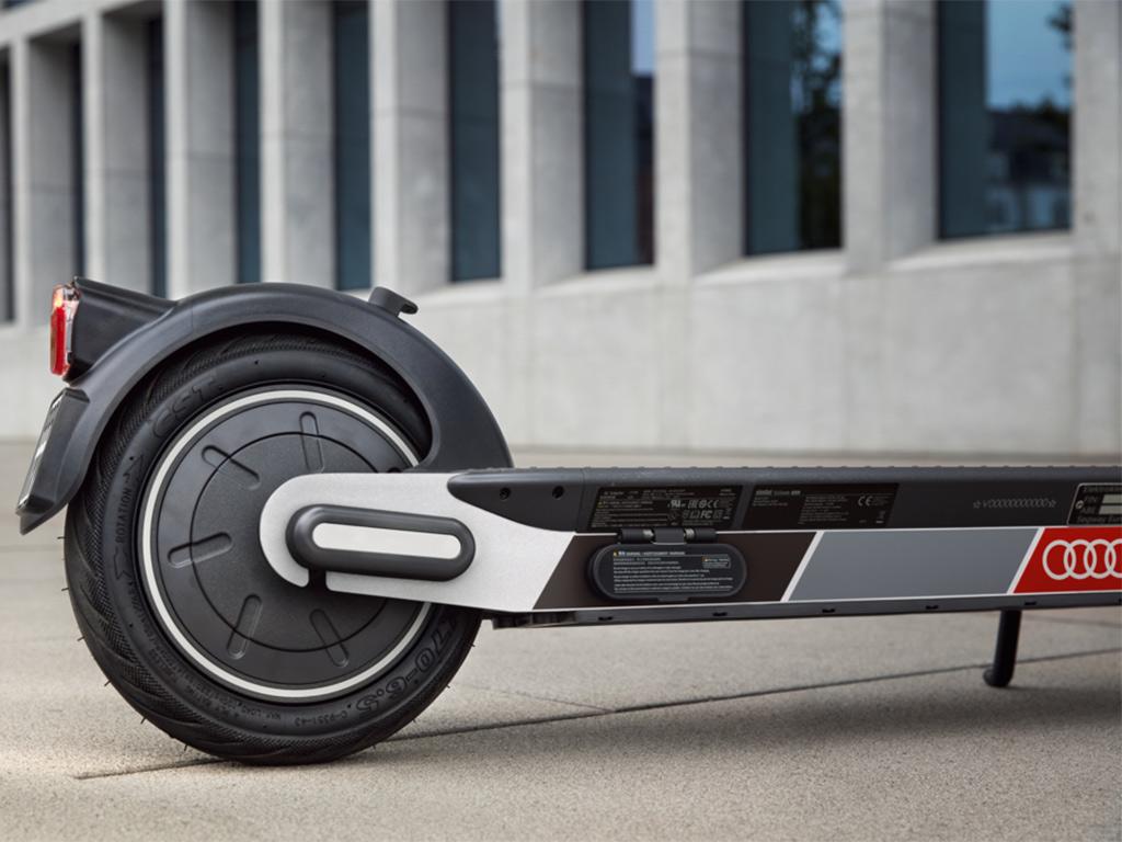 Audi electric kick scooter, la nueva alternativa de movilidad eléctrica