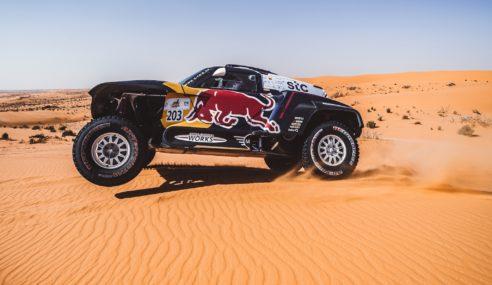Así es el MINI JCW Buggy de Carlos Sainz y Lucas Cruz para el Dakar 2021