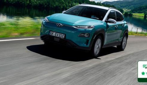 Hyundai Kona eléctrico 5 estrellas Green NCAP