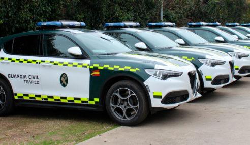 La Agrupación de Tráfico de la Guardia Civil, sigue apostando por el Alfa Romeo Stelvio