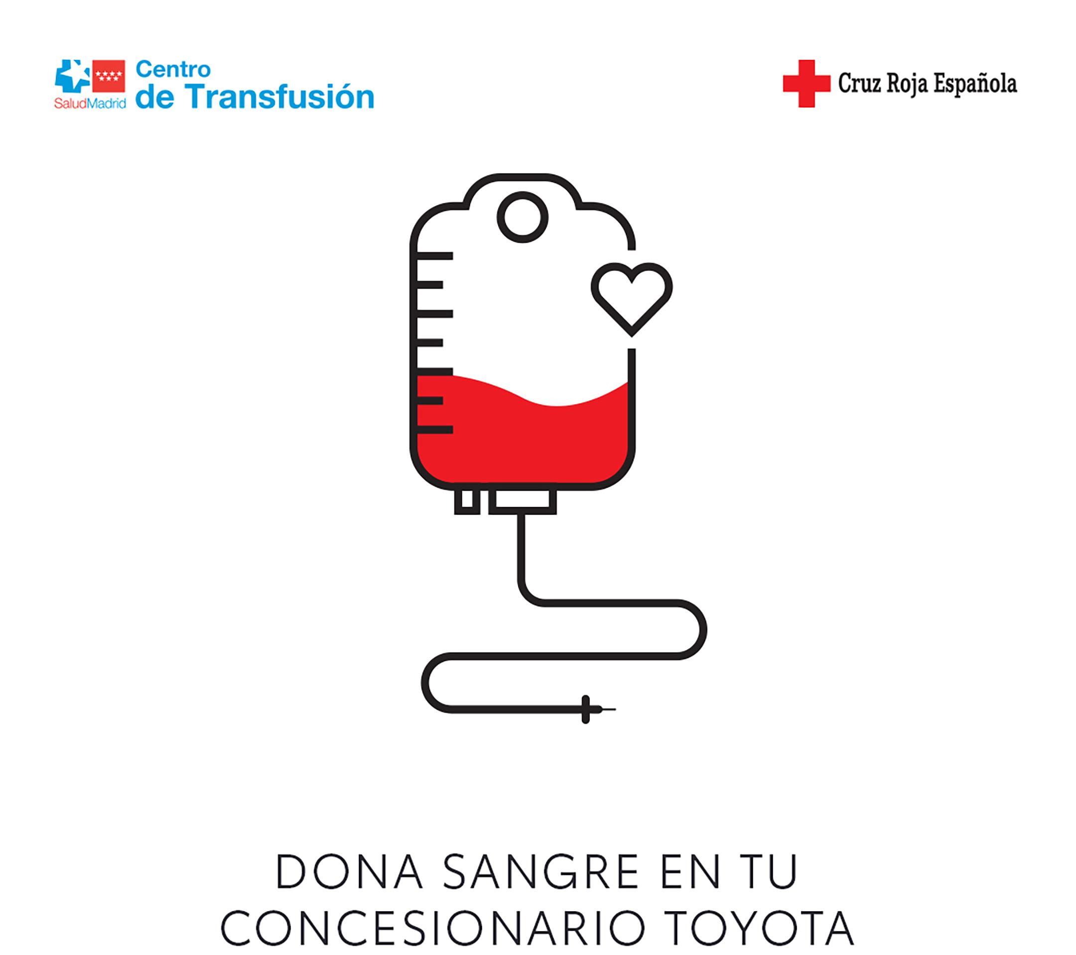 Toyota España y su innovadora acción de donación de sangre en el concesionario