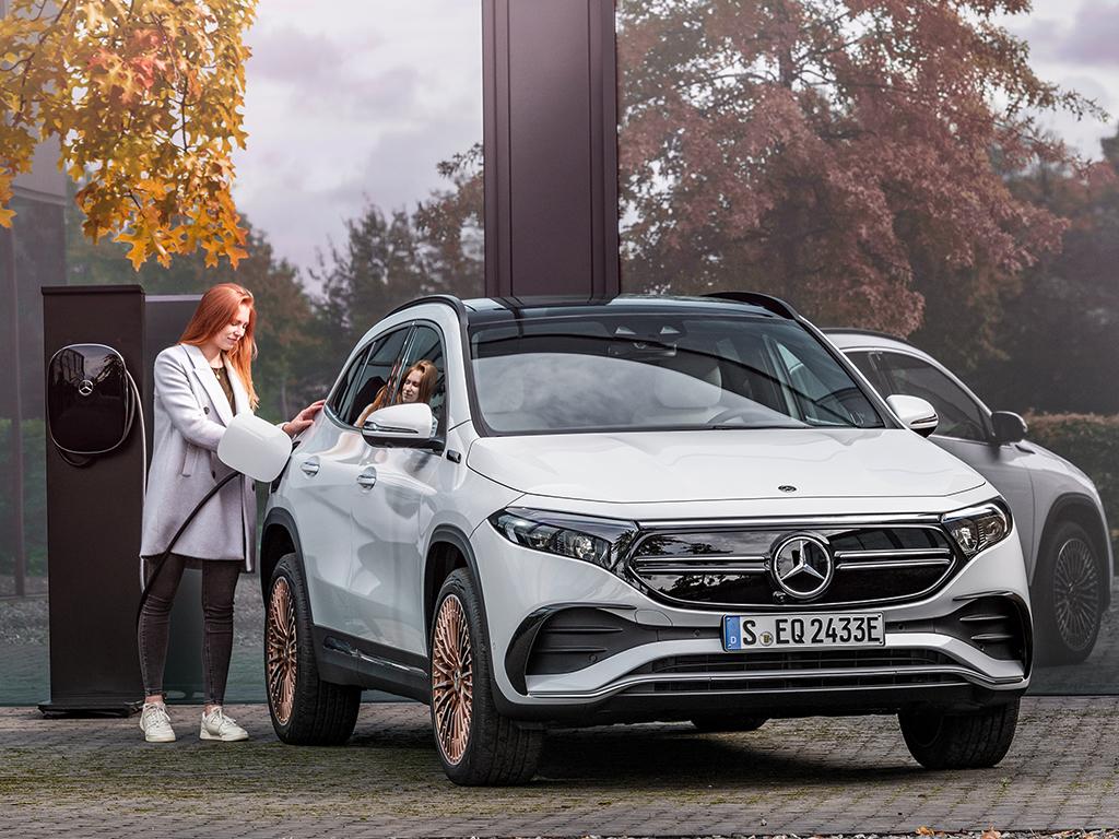 Mercedes-Benz EQA, el SUV de acceso de Mercedes-EQ