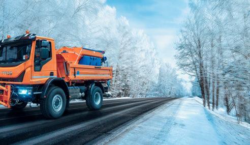 IVECO, sus vehículos, esenciales en la ayuda por la nevada Filomena