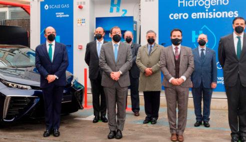 Se inaugura la primera estación de repostaje de Hidrógeno