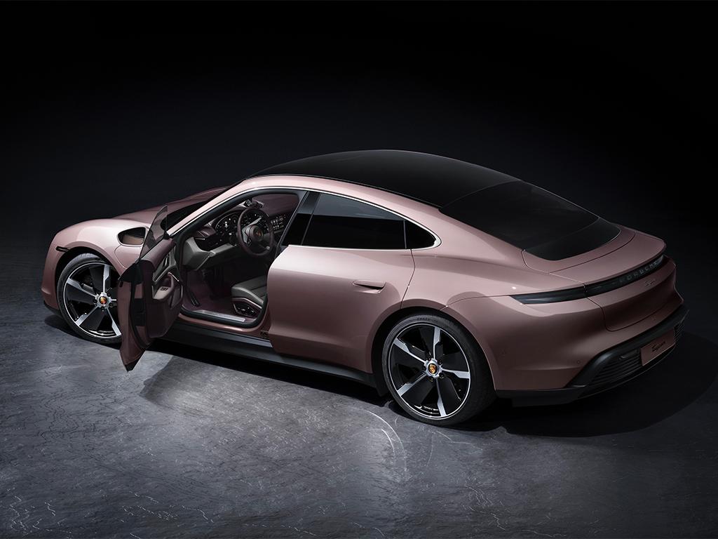 Nuevo Porsche Taycan, de acceso a la gama