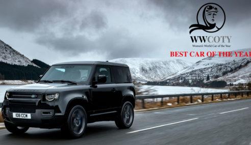Land Rover Defender gana el Women's World Car of the Year