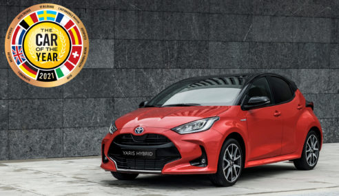 "Toyota Yaris ""coche del año 2021"""