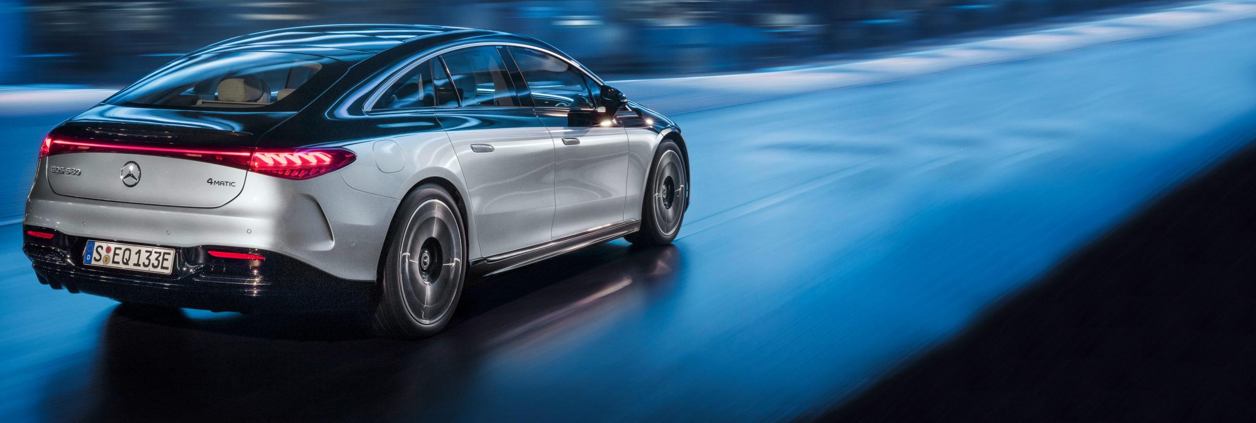 EQS1, la primera berlina de lujo con propulsión eléctrica de Mercedes-EQ