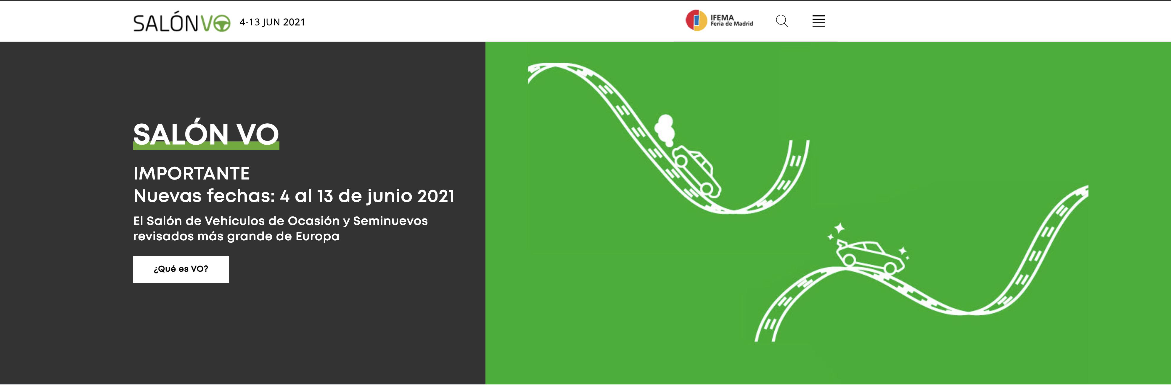 Salón del Vehículo de Ocasión y Seminuevo de Madrid 2021