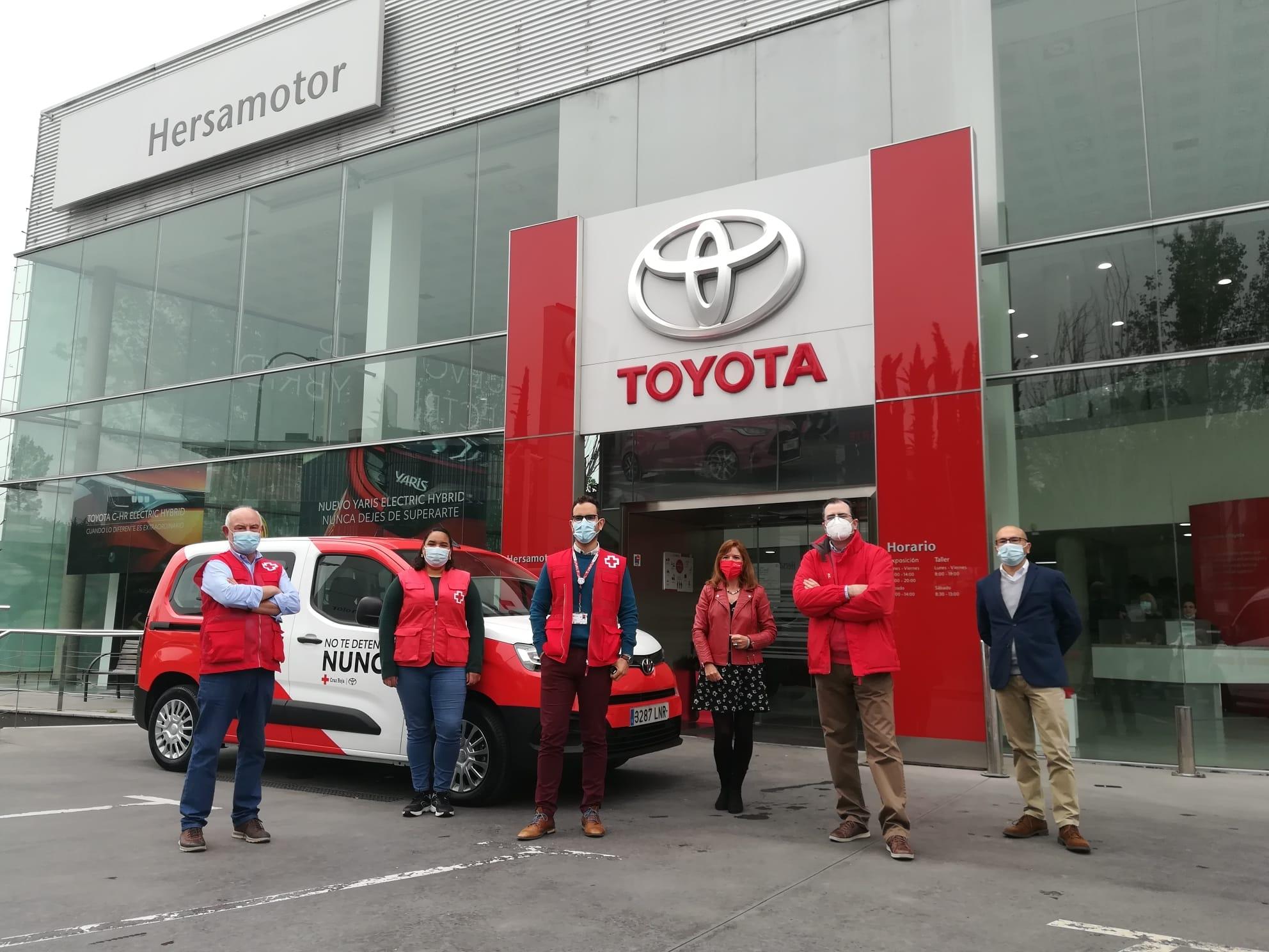 No te detengas Nunca, Toyota España y Cruz Roja juntos
