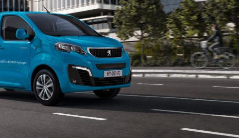 Peugeot e-Expert Hydrogen primera Van eléctrica con pila de hidrógeno