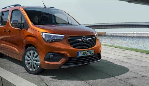 Opel Combo e-Life ya a la venta en España