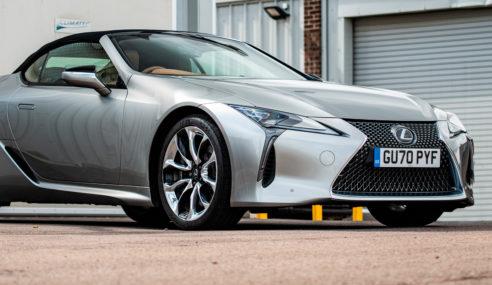 Lexus LC Cabrio Congelado, la nueva creación rompedora de Lexus