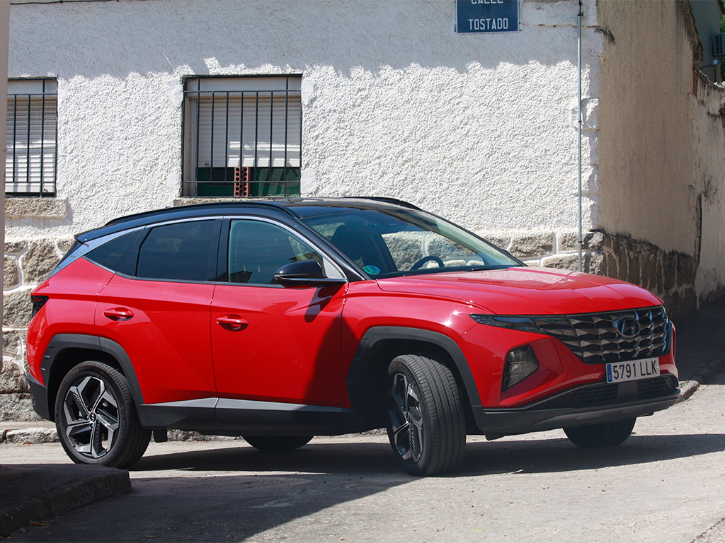 TestDrive - Hyundai Tucson Hybrid, rompe con lo establecido