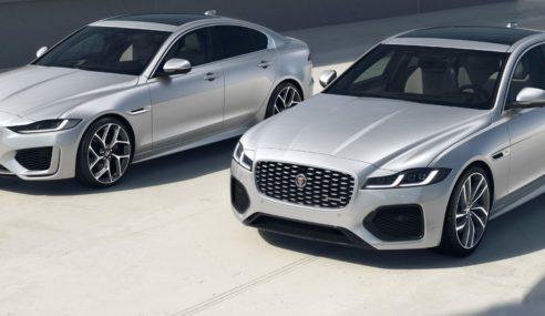Nuevas versiones R-Dynamic Black para los Jaguar XE y XF