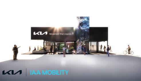 KIA se prepara para el IAA Mobility de Munich