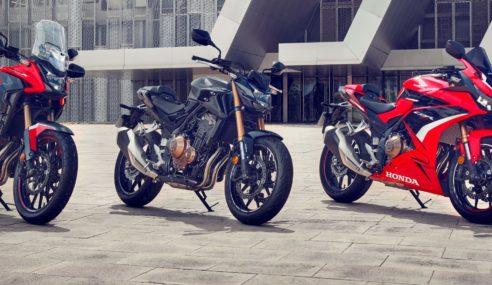 Gama Honda CB500 recibe importantes novedades