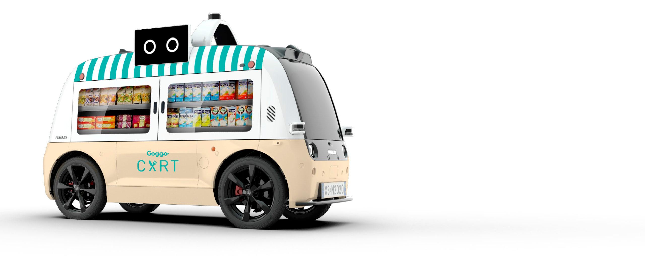 El primer food trucks autónomos para entornos urbanos se estrena en el MOGY
