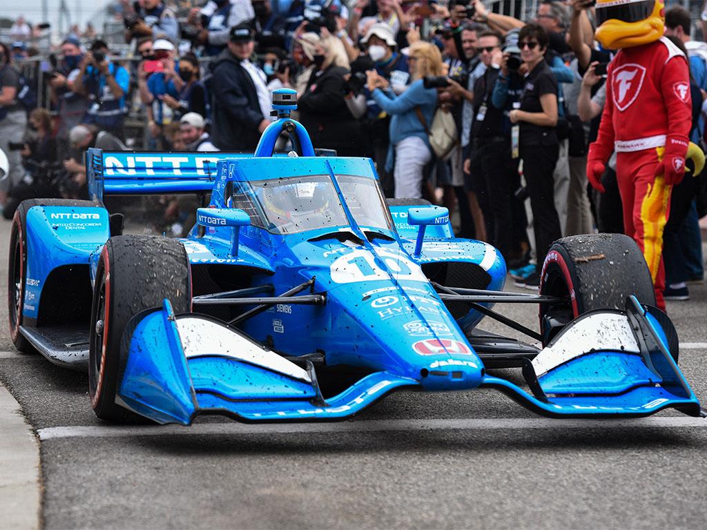 Alex Palou Campeón de la  Indycar