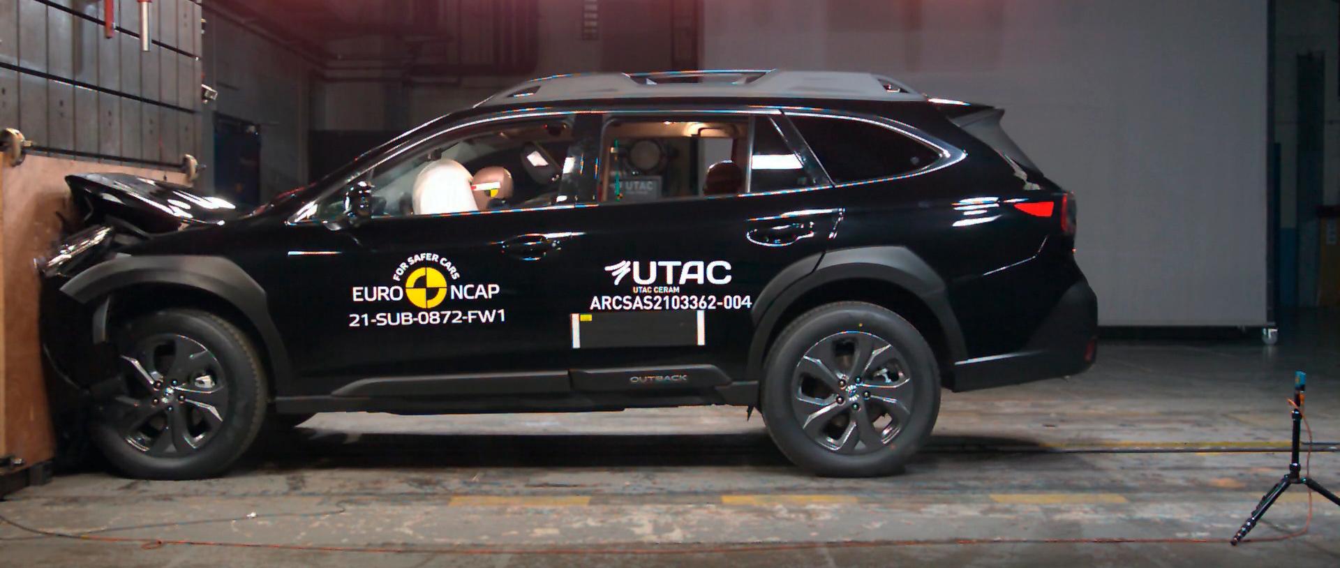 Nuevo Subaru Outback, coche más seguro 2021 según EuroNCAP